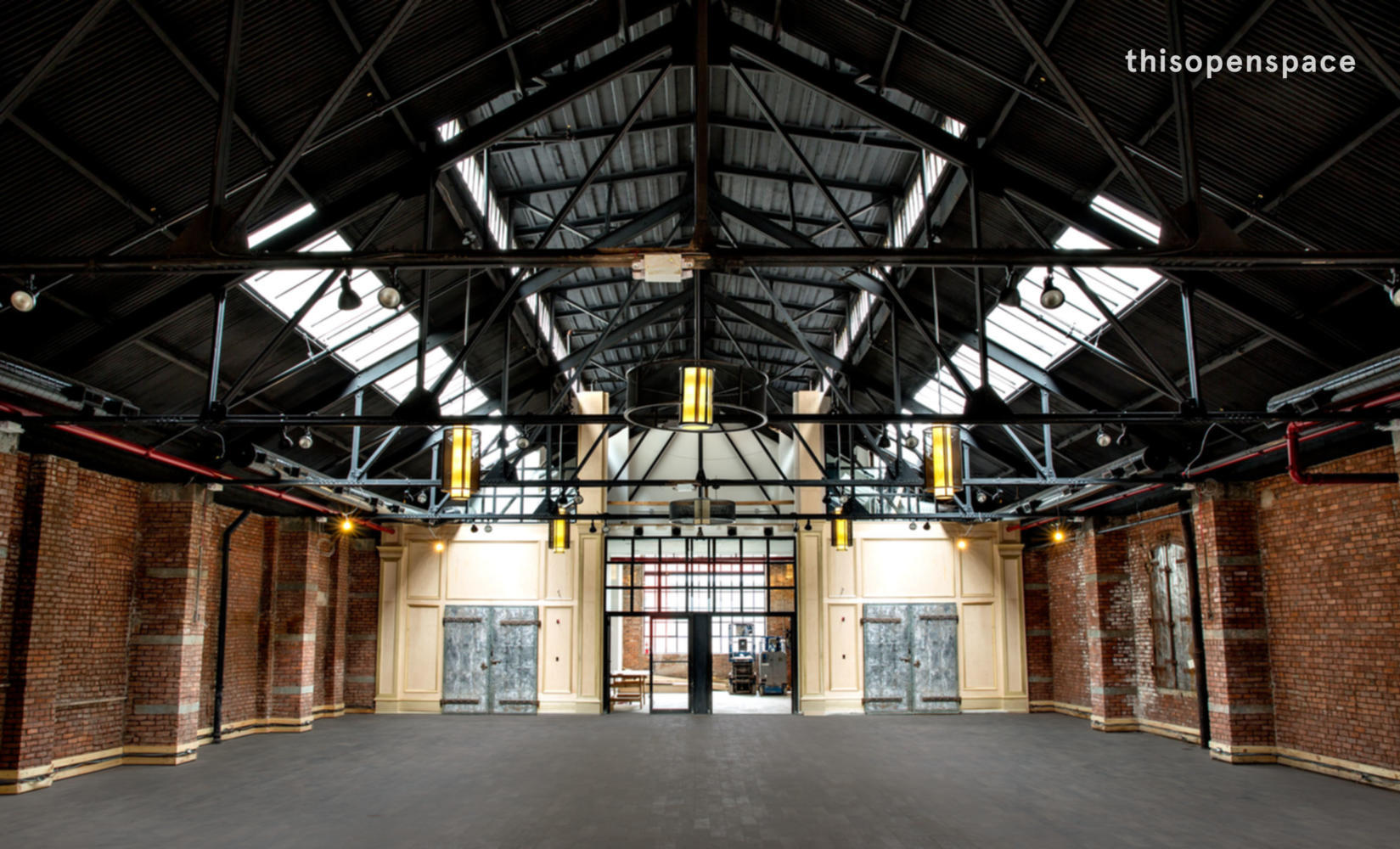 Thisopenspace Gorgeous Industrial Venue With Skylights