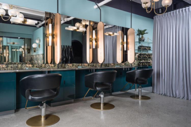 Thisopenspace Modern Art Deco Beauty Parlour In Yaletown