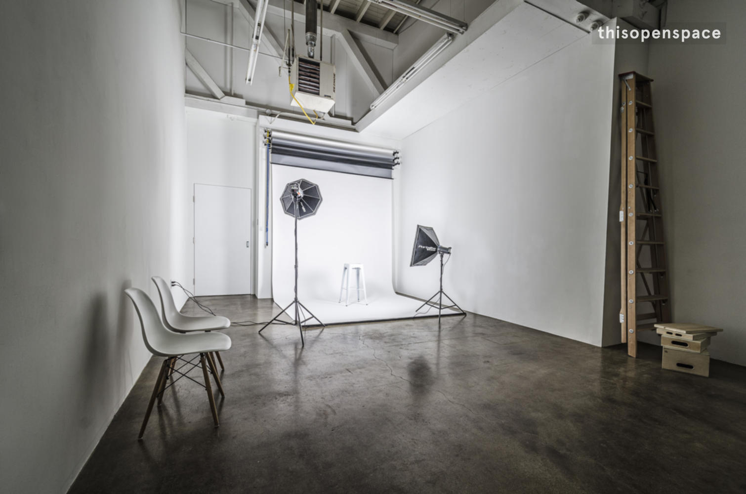 Thisopenspace Bright Industrial Photography Studio In