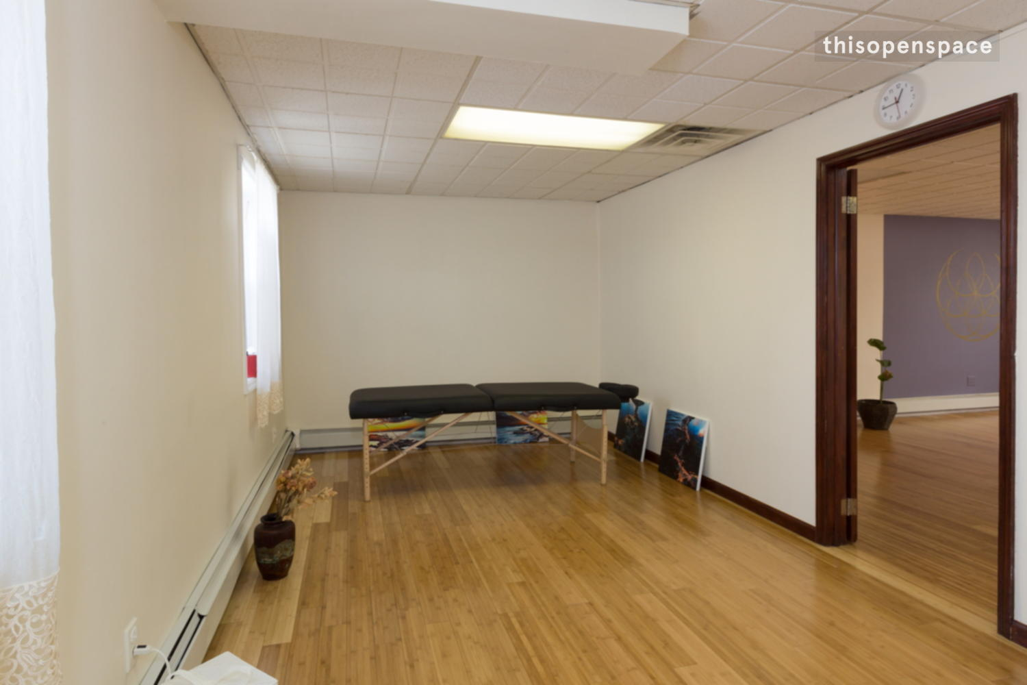 Thisopenspace Big Sunny Yoga Studio With Separate Room
