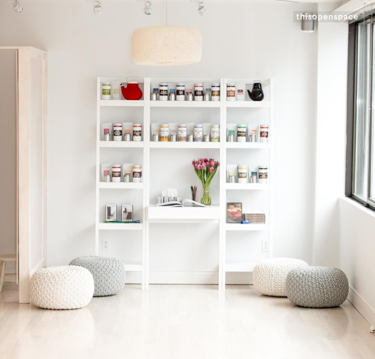 Bright Studio Space For Fitness Training