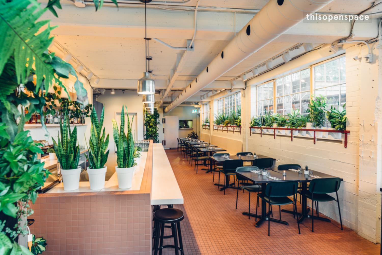 Thisopenspace New Hip Queen East Restaurant In