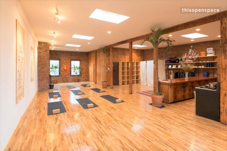thisopenspace   Full Floor Yoga Loft in Lower Manhattan ...